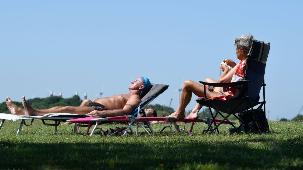33,7 graden: dagrecord sneuvelt in Ukkel en er volgen komende dagen nóg records met temperaturen tot 40 graden