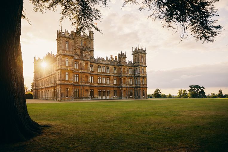 'Downton Abbey' staat op Airbnb