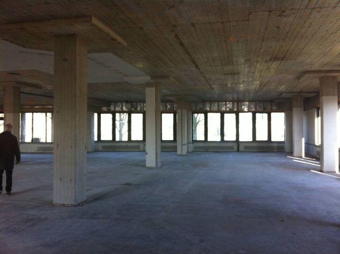 Het toekomstige pand van de Stadkamer aan de Zeven Alleetjes. Foto Jordy Boschman