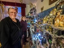 Kerst is voor Geertje en Arnold uit Millingen al begonnen met enorm diorama
