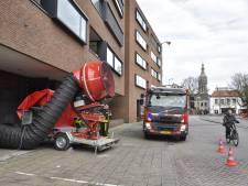 Bijna gestikt door blusgas in een parkeergarage: 'CO2 neemt alle zuurstof weg'
