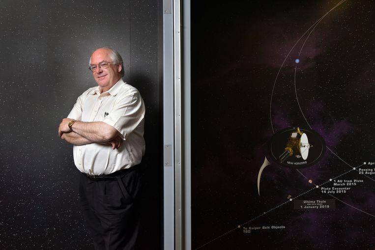 Ralph McNutt, geestelijk vader van de Interstellar Probe, een missie tot voorbij de grenzen van het zonnestelsel die vele decennia in beslag kan nemen. Beeld Getty
