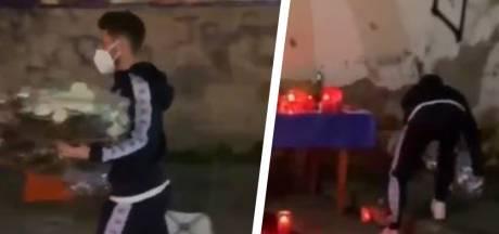 Le dernier hommage de Dries Mertens à Diego Maradona