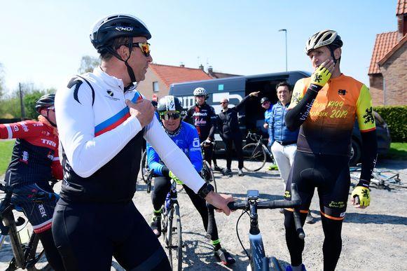 Dat Johan Museeuw nog goed de conditie onderhoudt, bleek afgelopen lente nog toen hij met Andrea Tafi Parijs-Roubaix verkende. De Leeuw van Vlaanderen is vol lof over de Aarseelse wielerkampioen.