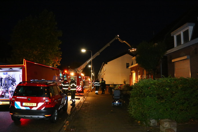 Schuurbrand aan de Molenweg in Oss.