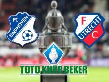 LIVE | FC Eindhoven gaat in eigen huis voor plek bij laatste acht tegen FC Utrecht