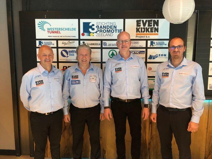 Jean Paul de Bruijn (links) vertolkte zaterdag een glansrol voor Dallinga.com. Zondag was alles anders