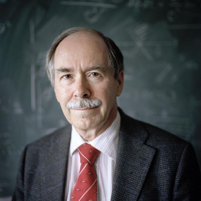 Fysicus Gerard 't Hooft. Beeld Joost van den Broek / de Volkskrant
