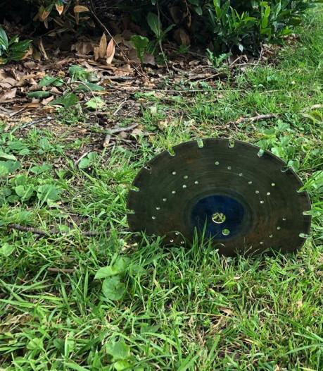 Vlijmscherp zaagblad in Dordts grasveld waar kinderen en honden komen: 'Absurd'