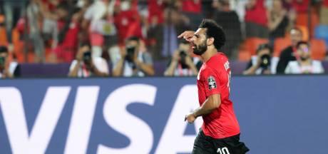 Hoofdrol voor Mohamed Salah bij moeizame zege Egypte