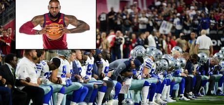James deelt weer sneer uit aan Trump, 'Cowboys' door de knieën