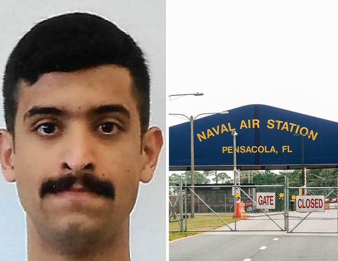 Mohammed Alshamrani (21) – lid van de Saudische luchtmacht - opende vrijdag het vuur op de Amerikaanse marinebasis Pensacola in Florida.
