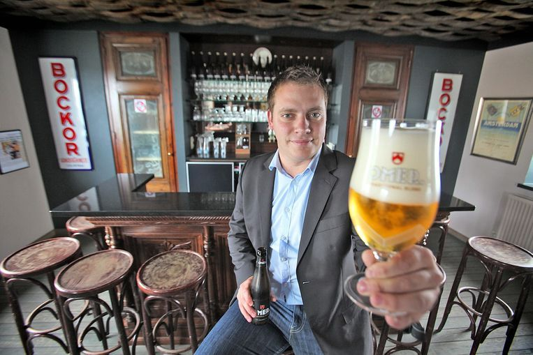 Nicolas Degryse, woordvoerder van de brouwerij