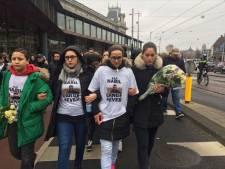 Stille tocht in Amsterdam voor onthoofde Nabil