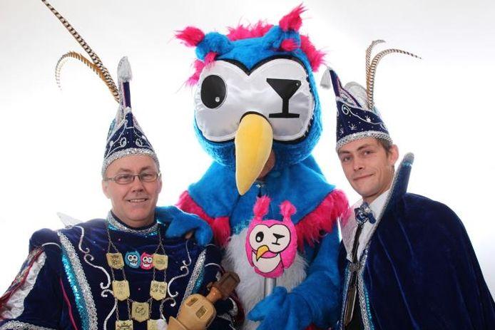 Stadsprins Joop II (links) en adjudant Tom van Zevenaar. Foto: Yvonne Heineman