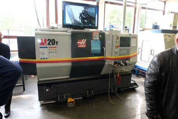 De fameuze CNC-machine.
