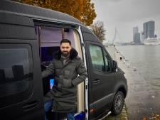 Brand legt 'Nederlands meest luxe kapperszaak op wielen' in de as, eigenaar woedend