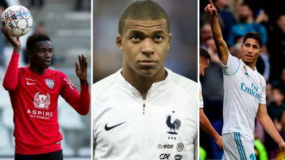 Een toptalent van Real, een Franse komeet van 180 miljoen of een verdediger van... Eupen: de tieners om in de gaten te houden tijdens het WK