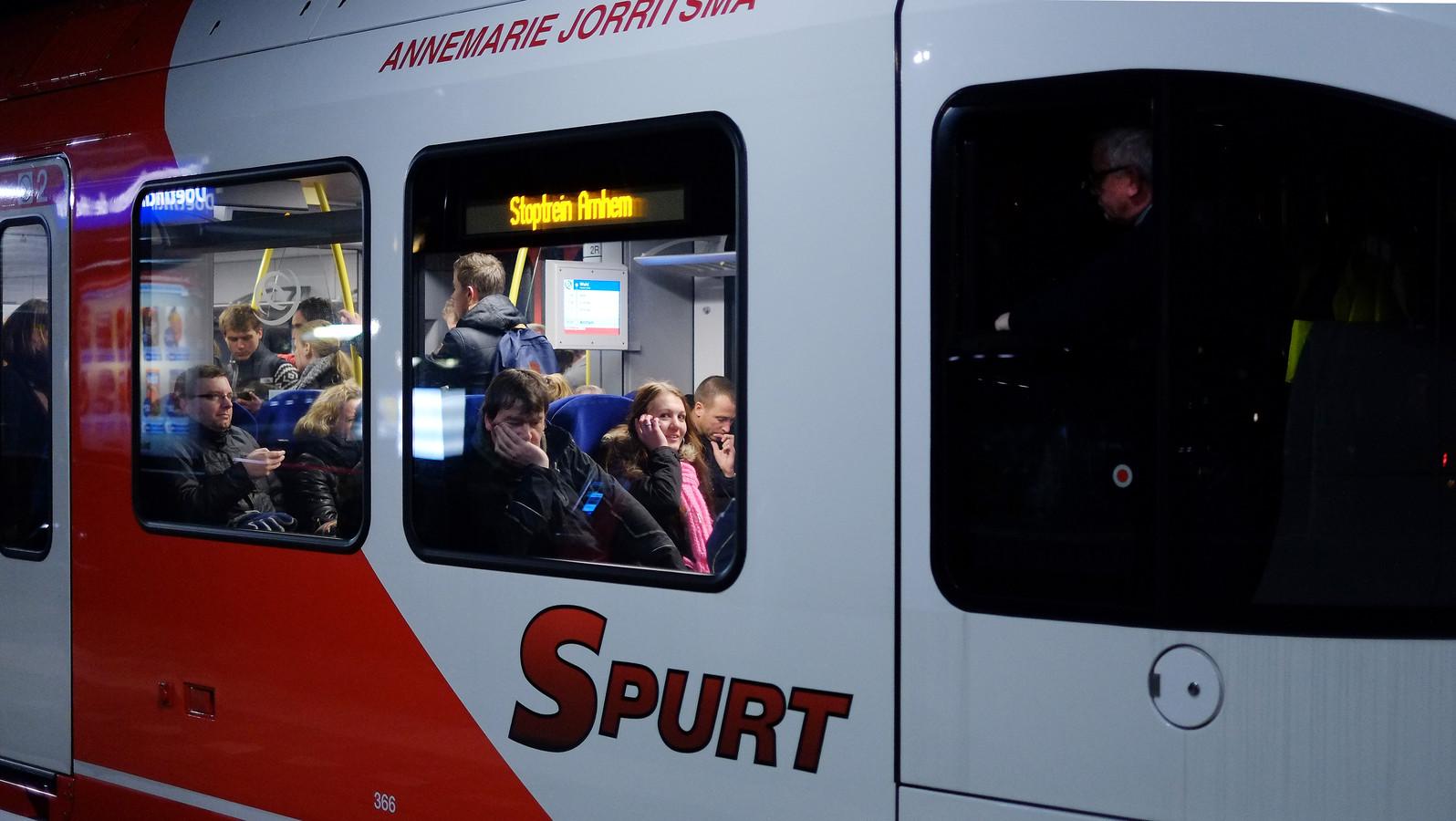 De Arriva- Annemarie Jorritsma gaat in Friesland rijden.