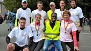 Olympisch duwtje in de rug voor leerkrachten Don Bosco die deelnemen aan 100 kilometer Run Kom Op Tegen Kanker