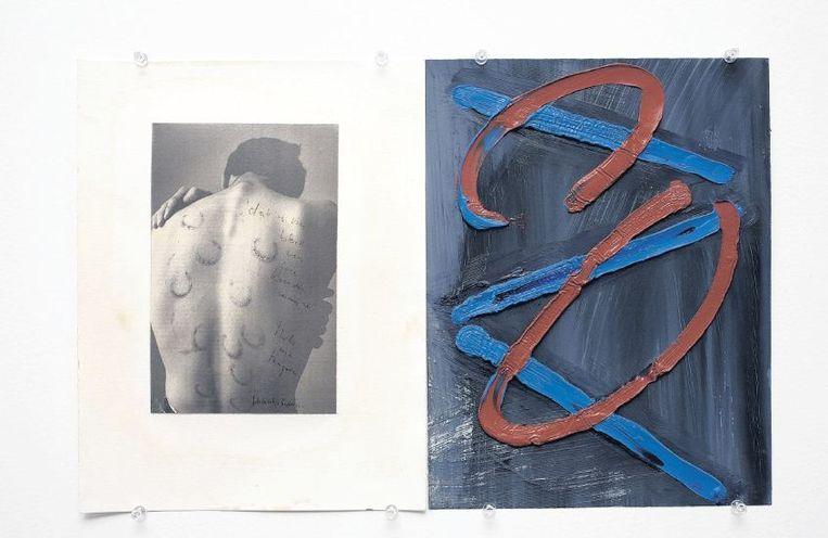 René Gude: 'Met zijn beelden probeert Harry Haarsma een weg te vinden om de kijker empathisch te laten blijven.' Beeld Henk Geraedts