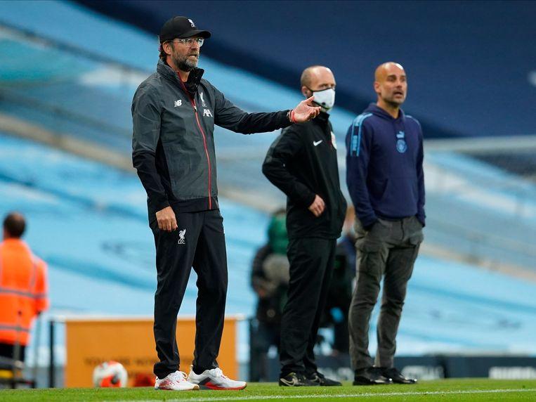 Liverpool-trainer Jürgen Klopp. Beeld EPA