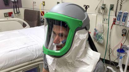 'Buitenaardse' helm kan ziekenhuispersoneel beter beschermen tegen besmetting met Covid-19
