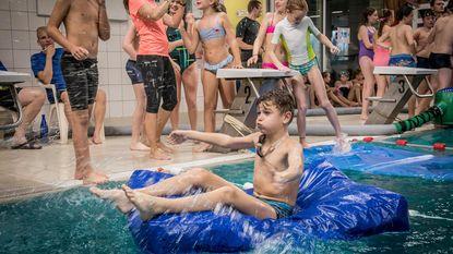 Spel zonder Grenzen palmt zwembad in