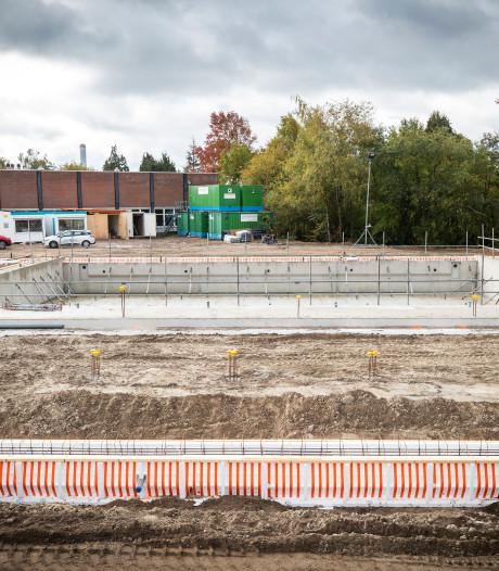 Bouw nieuwe zwembad Bilthoven weer hervat na problemen
