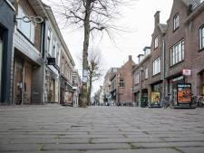 Looproute in Wageningse winkelstraat: makkelijker om anderhalve meter afstand te houden