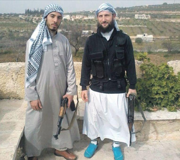 null Beeld Ook Belgische djihadisten doen mee aan de strijd in Syrië, zoals Raphael Gendron (rechts).