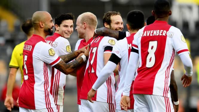 0-13! Ajax deelt historische pandoering uit aan Venlo: zet u schrap voor dertien goals in anderhalve minuut