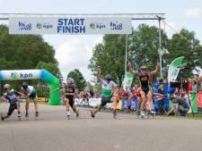 Rouvener Jordy Harink loopt nationale titel op de marathon in eigen streek nipt mis