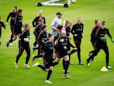 Oranje compleet op laatste training Le Havre