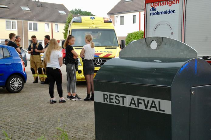 Kind belandde mogelijk tijdens het spelen in de afvalbak