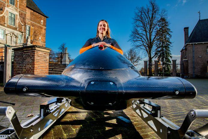 Monobobster Karlien Sleper uit Vaassen is hard op weg de Olympische Spelen van Peking (2022) te halen.