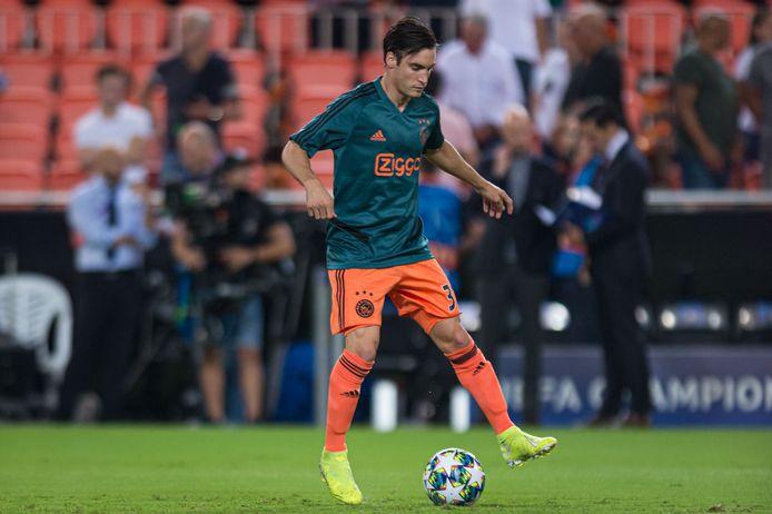Nicolás Tagliafico ontbrak wegens een schorsing tegen RKC, maar kan wel weer spelen tegen Chelsea.