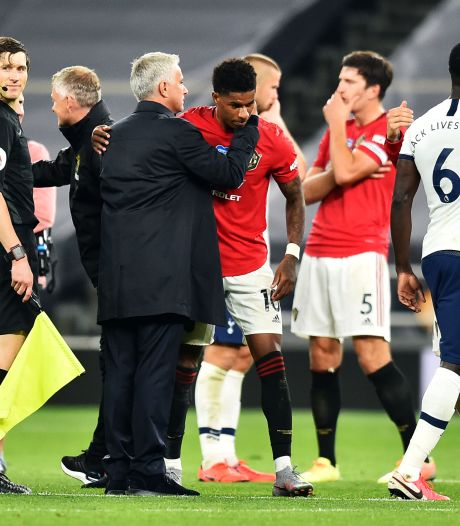 Rashford dankt Mourinho: 'Krijg meer penalty's  dankzij hem'
