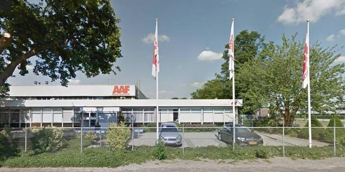 Het pand van AAF in Emmen