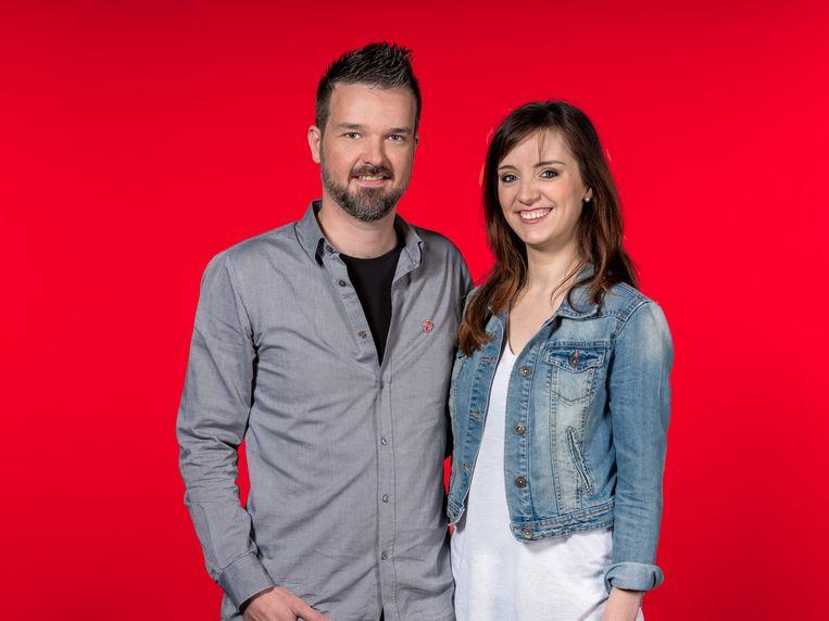 Wouter De Schepper en Freija Dhondt.