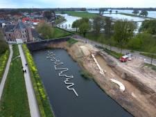 Stadsmuur Gorinchem is restant van kasteel
