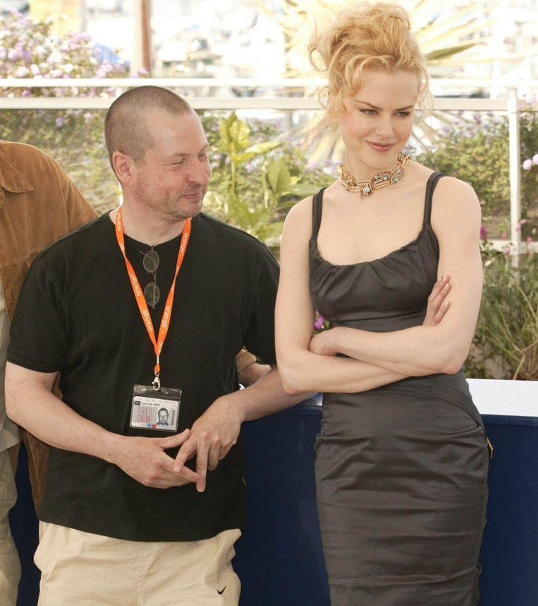 Kidman zal dimaal niet samenwerken met Von Trier.