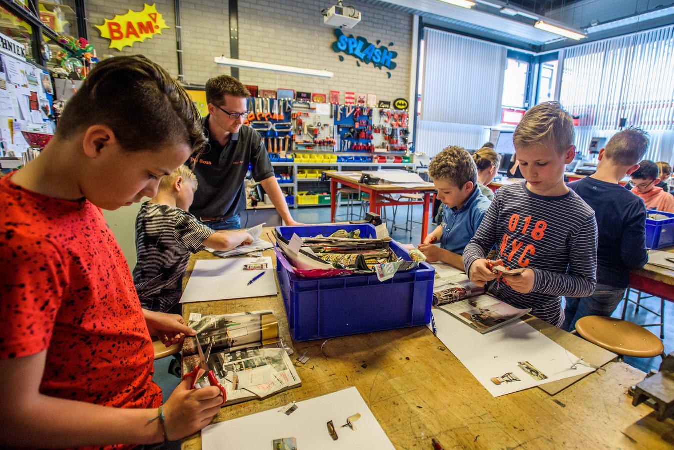 Techniekles op de basisschool draagt bij aan de cultuurverandering die nodig is om ook in de toekomst voldoende vakmensen te hebben.