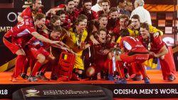 Hockey-wereldkampioenen verschijnen dinsdag op balkon Brussels stadhuis, Eden Hazard verontschuldigt zich nu al voor afwezigheid