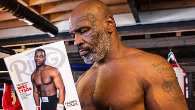 """""""Klaar om aan de hele wereld te tonen hoe goed ik er nu uitzie"""": Mike Tyson stapt over maand terug in ring"""