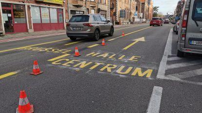 Politie controleert vanaf maandag op omleidingsroutes in Halle: Arkenvest en Auguste Demaeghtlaan worden in de gaten gehouden