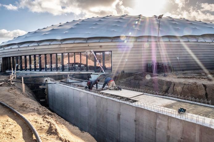 Er wordt een tunnel aangelegd tussen het nieuwe bevrijdingsmuseum en het depôt.