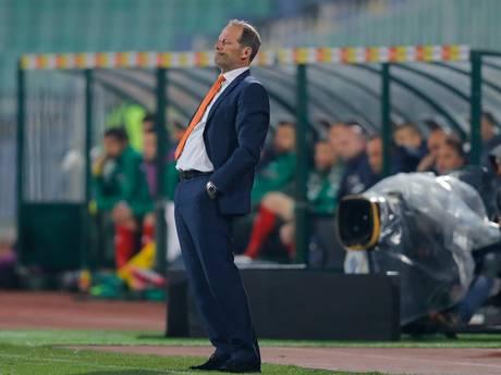 Blind weg bij Oranje en dat wist hij al in Sofia