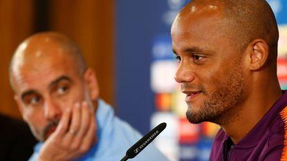 """Als Kompany een vraag heeft, kan hij altijd bij Guardiola terecht: """"Ik wens hem al het beste toe"""""""