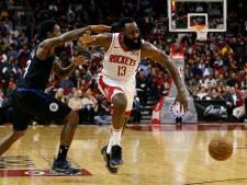 Harden leidt Houston Rockets naar tiende zege